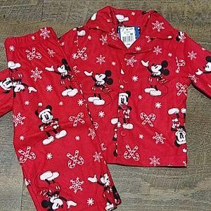 NWT. Disney Mickey Mouse soft PJs